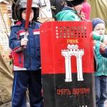 Новые атрибуты Майдана для туристов
