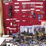 """Стенд """"мирного"""" вооружения Беркута"""
