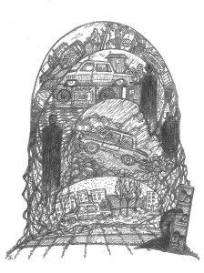 Иллюстрация Дзерасса Хетагурова